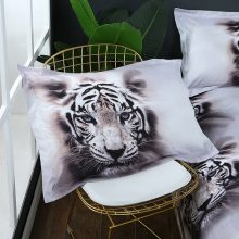 Snow Tiger Pattern Cotton Bedding Set