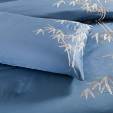Floral Embroidery Egyptian Cotton Bedding Set