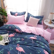 blue-pink-flamingo-bed-set