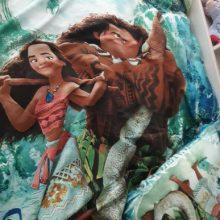 Moana bedding set disney hero baymax frozen mcqueen cars flat bed sheet set 2/3/4 pcs duvet cover pillow case cool boy girl gift