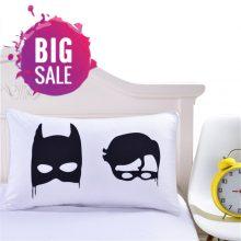 Batman & Robin Bed Pillow Case