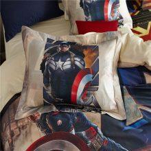 disney charatcer Captain America comforter bedding set king queen twin full size spiderman duvet cover 100% cotton Avenger linen