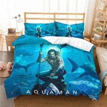 MUSOLEI  Aquaman  3D Duvet Cover set Bedding  friends'/kids' gift   Bed Sheet Twin queen king