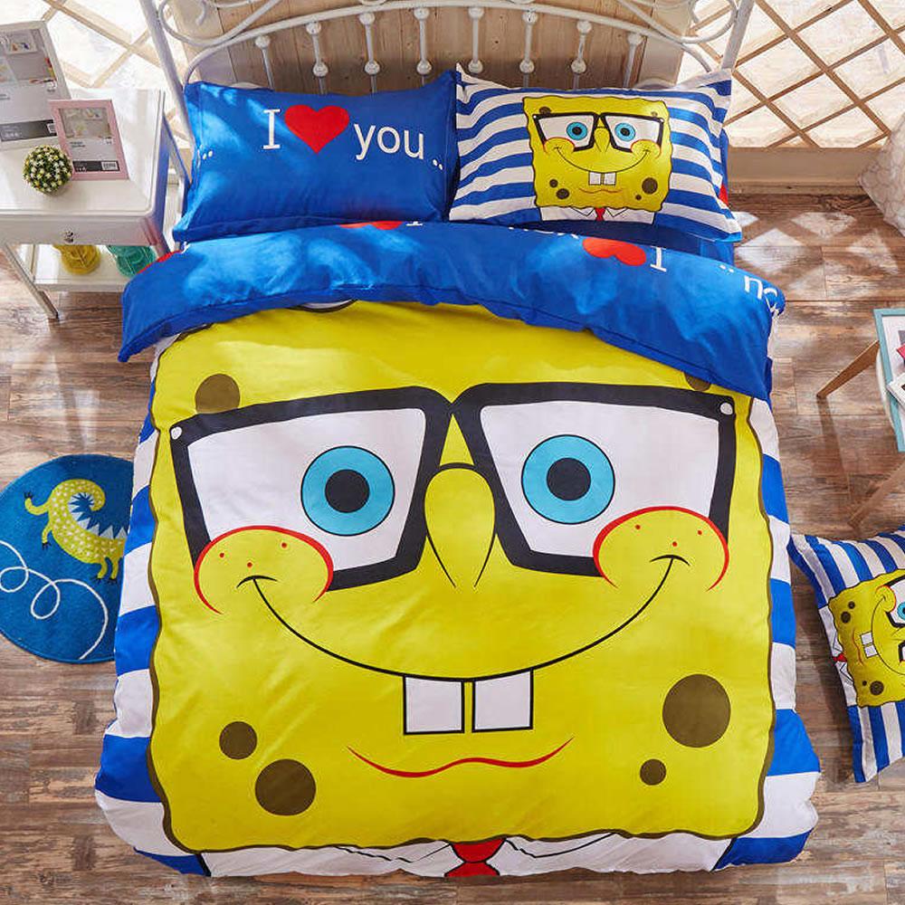 sponge bob bed sheets