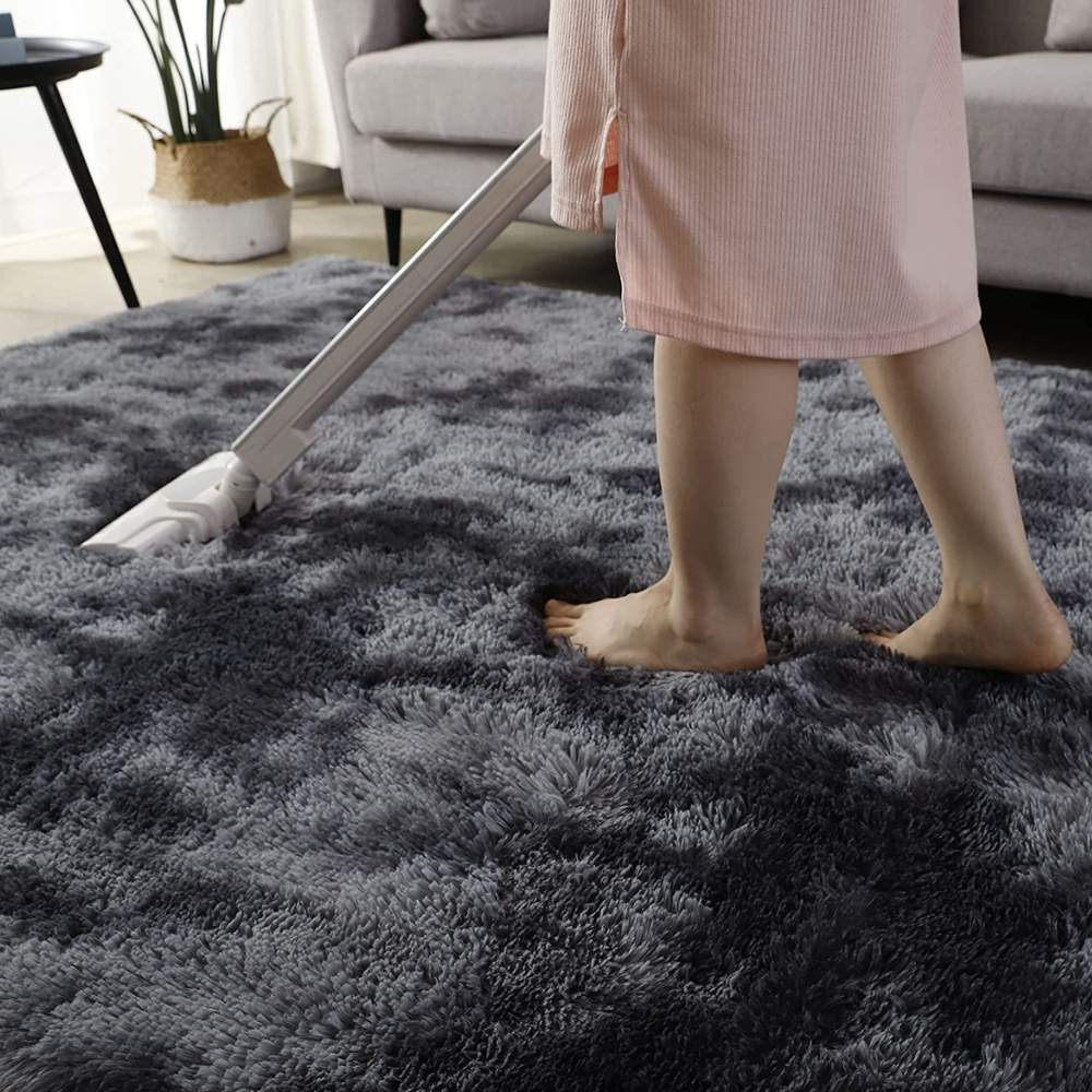 buy soft fuzzy area rug online