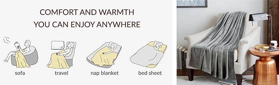 flannel fleece plush blankets